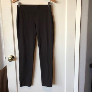 Eileen Fisher chocolate stretch crepe pants